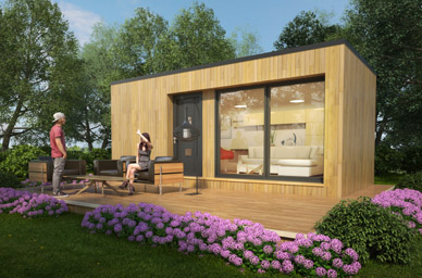 Maison container construction de maison modulaire for Container habitation tarif